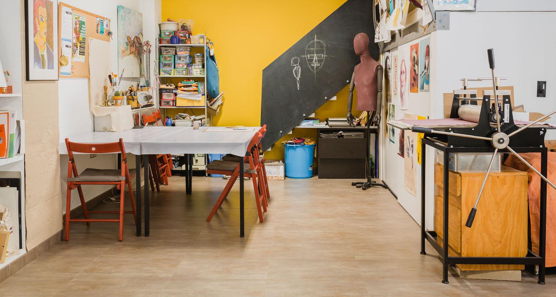 taller de arte en huesca el artelier clases de dibujo