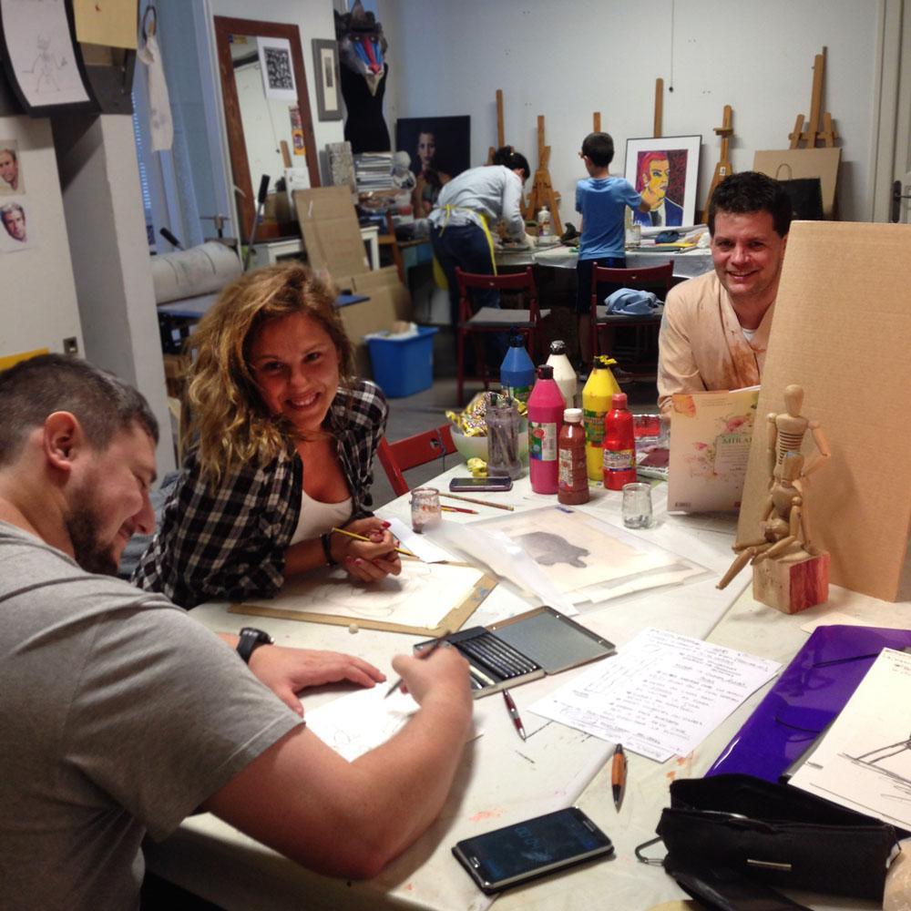 clases de dibujo para adultos el artelier