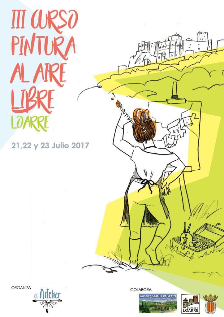 Curso Pintura Al Aire Libre Loarre 2017